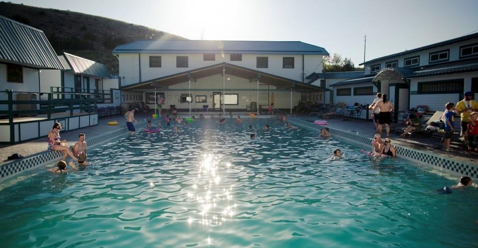 Outstanding Hot Springs near Bozeman