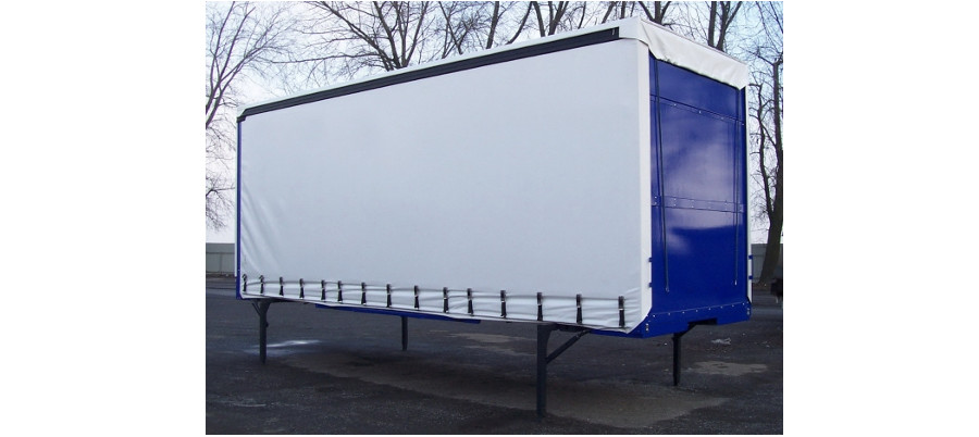 Swap body is on of the shipping container types common in Europe since they are able to transport a wide variety of load types.