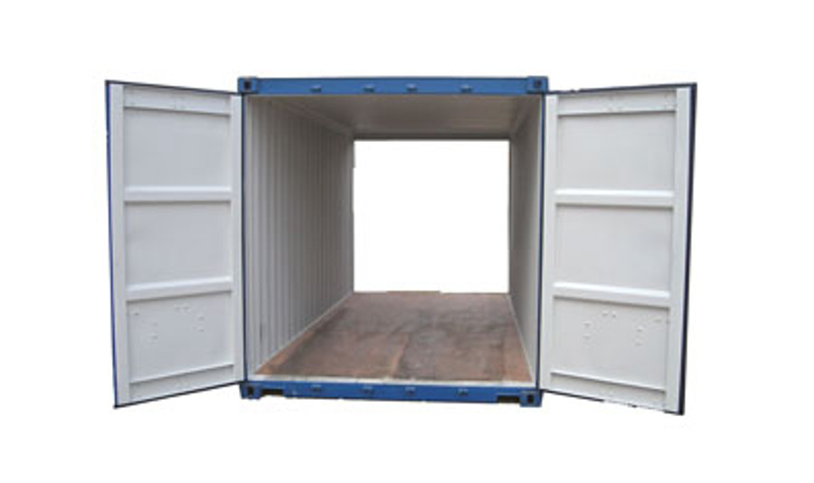 Tunnel shipping containers have doors on either side of the container, making it easier to unload.