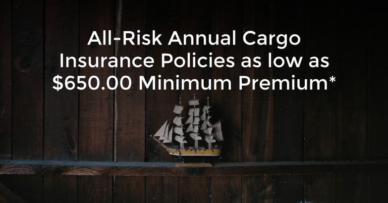 Cargo Insurance Pricing Online Application Trade Risk Guaranty