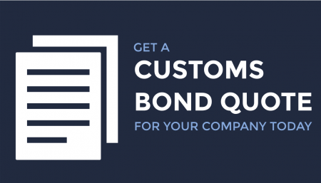 Looking for a customs bond quote for your company? Reach out to Trade Risk Guaranty today and see our pricing options.