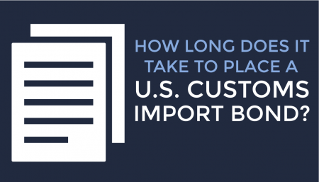 U.S. Customs Import Bond is one of the most overlooked and, TRG is here to guide importers through that process.