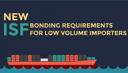 Trade Risk Guaranty provides all the information to know about the new ISFbonding requirements for low volume importers.