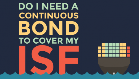 Purchasing a continuous bond that has been amended to cover ISF is going to be your most economical option.