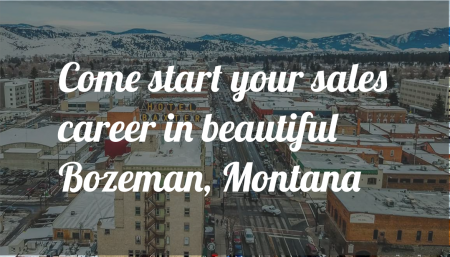 Start your sales career in Bozeman with Trade Risk Guaranty