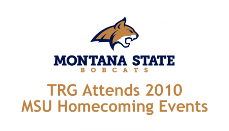 TRG supports life in Bozeman while attending the events for the 2010 MSU Homecoming.