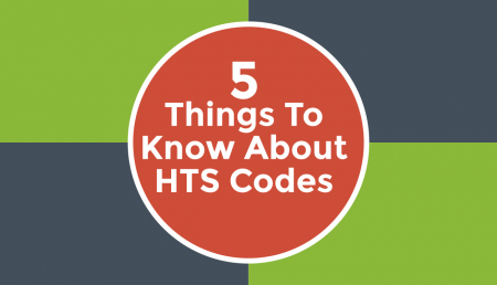 Discover 5 important things you need to know about HTS Codes from Trade Risk Guaranty.