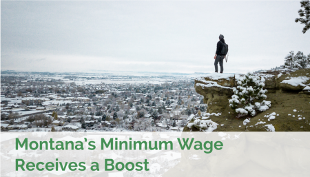 Montana's minimum wage receives a boost in 2012.