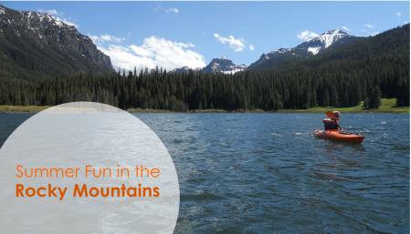 Outdoor recreation in Montana offers fun and excitement on a scale as grand as the Rocky Mountains themselves.