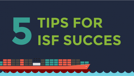 Five tips relating to Importer Security Filing (ISF). There is much more to learn, but here at TRG is a good place to start.