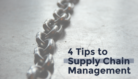 Check out TRG's 4 tips to Supply Chain Management.