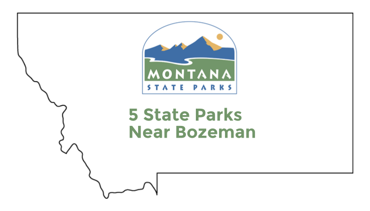 Check out these 5 state parks near Bozeman, Montana.