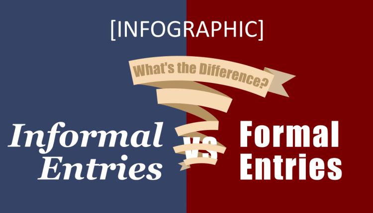 Difference between Formal and Informal Entries | U S