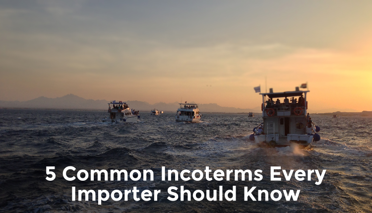 5 Common Incoterms to Know | International Trade | TRG Peak Blog