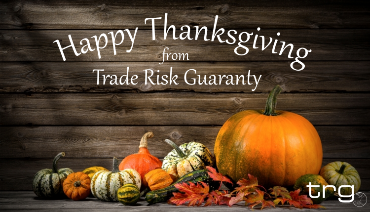 Happy Thanksgiving 2015 from Trade Risk Guaranty