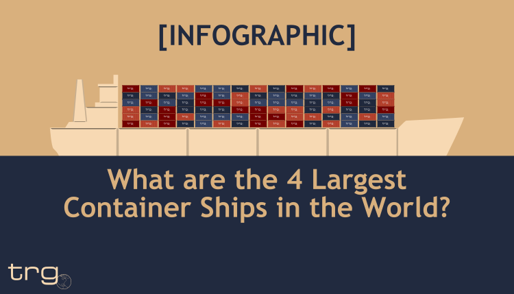 Infographic about the largest container ship.