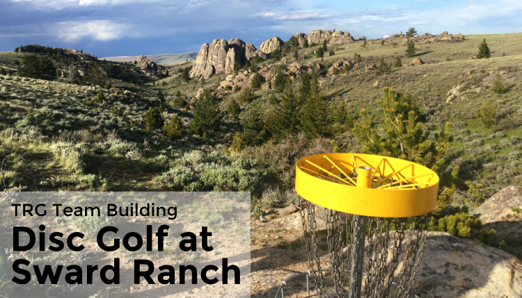 Disc Golf in Bozeman, MT with the TRG Team