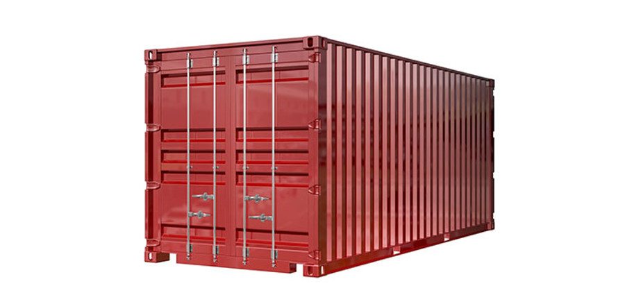 Dry Containers are the most common shipping container types seen in international trade.