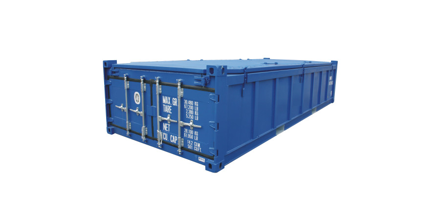 Half height shipping container types are used for loads like coal since they reduce the overall weight.