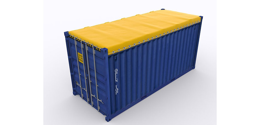 Open top container types are useful for top-loading when trading internationally.