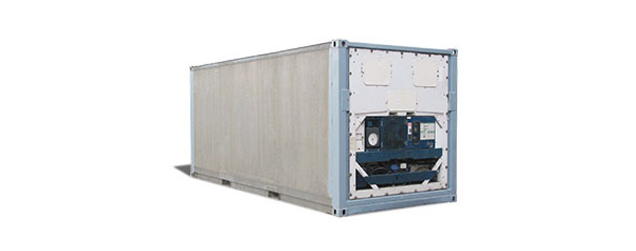 Reefer containers protect temperature sensitive goods during transport.