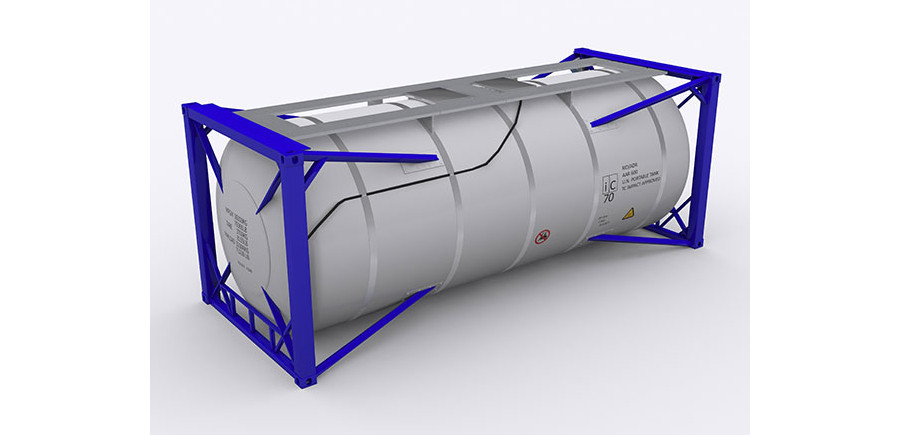 Tank shipping container types are used for the transportation of liquid materials.
