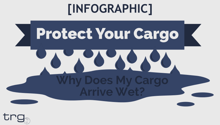 Discover why you receive water damaged goods inside the container.