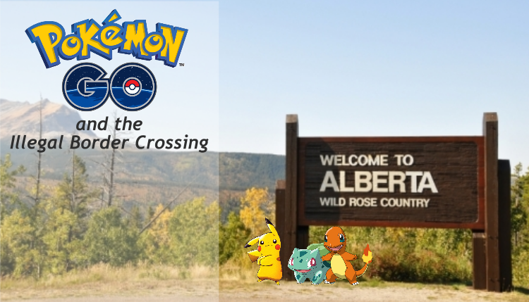 Illegal Border Crossing caused by Pokémon Go
