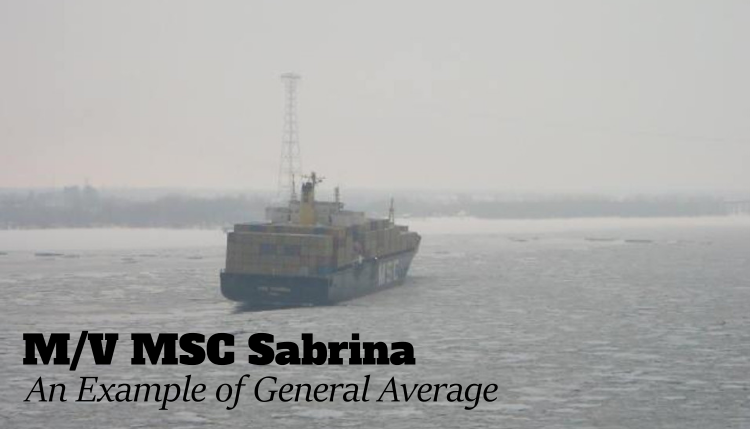 A Story of General Average and the M/V MSC Sabrina