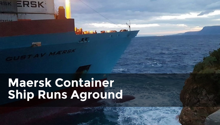 Maersk Container Ship Ran Aground, Article Round-Up