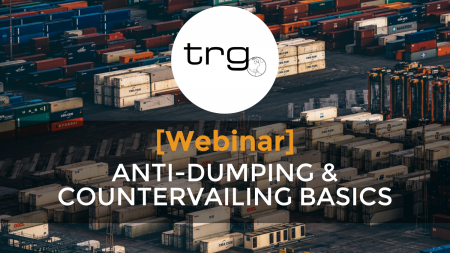 Trade Risk Guaranty hosts a webinar on the basics of Antidumping and Countervailing.