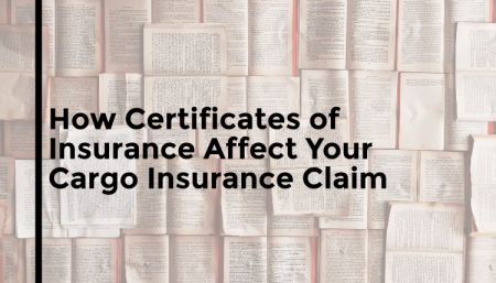 TRG answers how a certificate of insurance can affect your marine cargo insurance claim.