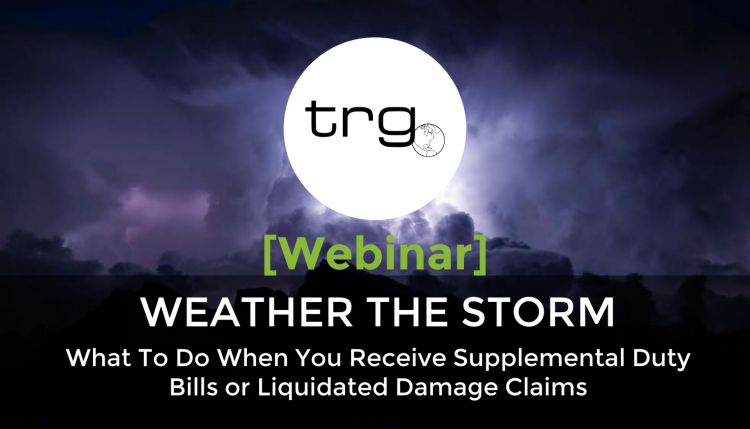 Watch Trade Risk Guaranty's webinar on what to do when there is a claim on your bond.