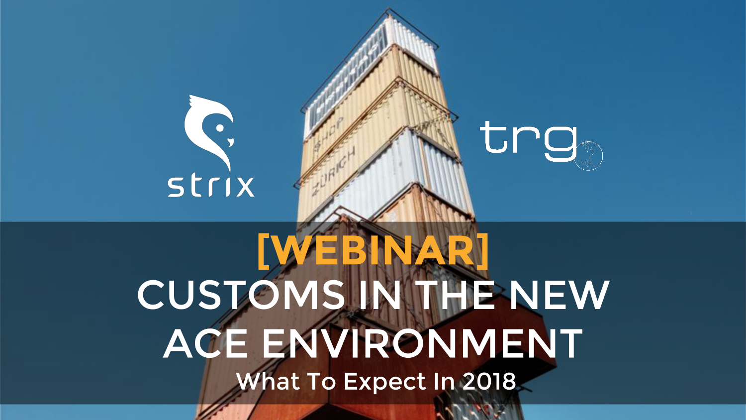 [Webinar] Customs in the New ACE Environment: What to Expect in 2018