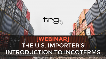 Trade Risk Guaranty hosts a webinar about Incoterms and how they affect your Marine Cargo Insurance policy.