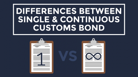 Trade Risk Guaranty explains the differences between Single Entry Bonds and Continuous Customs Bonds.