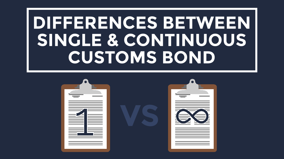 [Video] What is the Difference Between Single Entry and Continuous Customs Bonds?