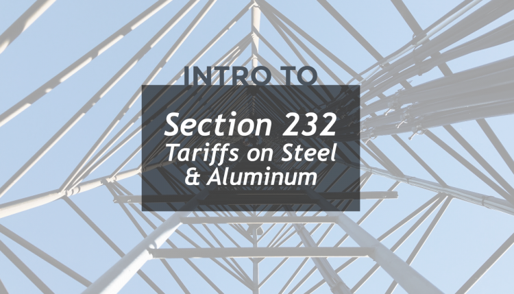 Trade Risk Guaranty explains what the deal is with the Section 232 tariffs on steel and aluminum.