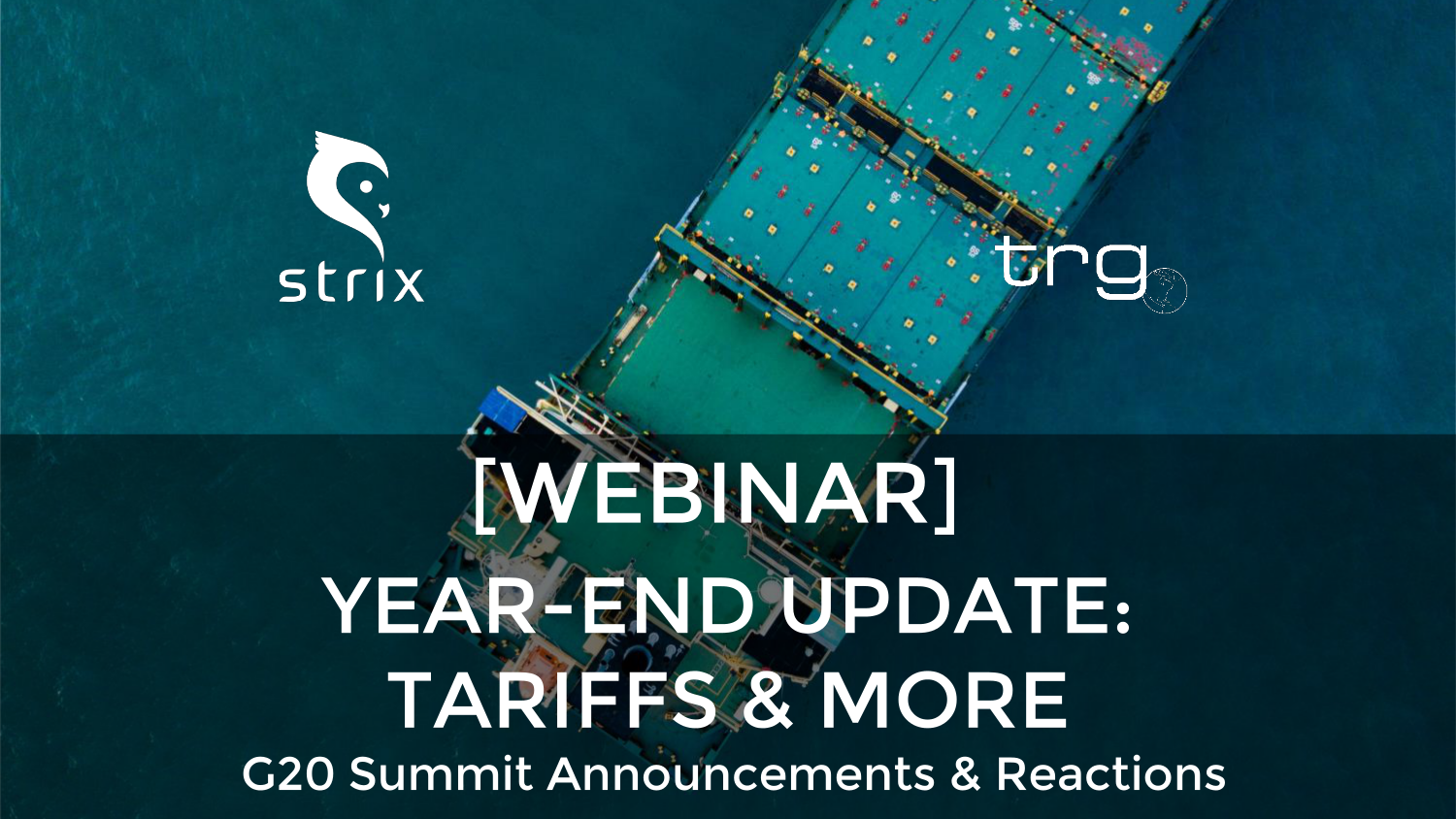 [Webinar] Year-End Update on the Chinese Tariffs: Section 232 & 301