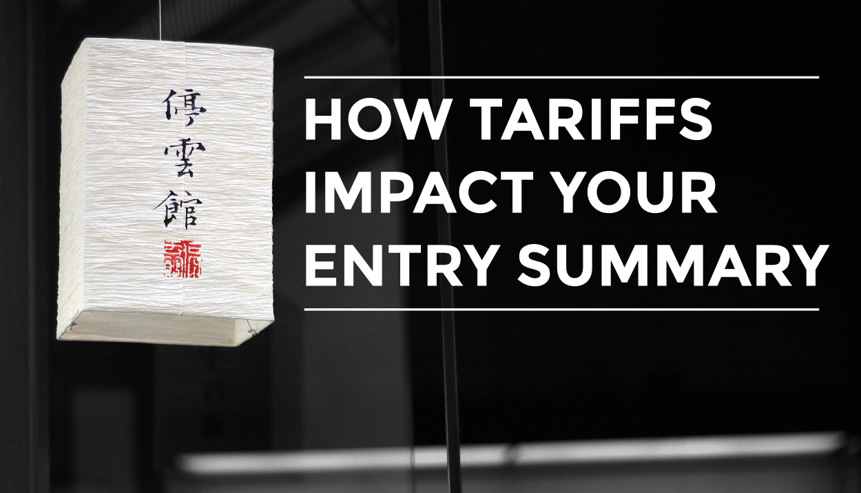 Discover how Chinese tariffs impact your entry summary (CBP Form 7501) with Trade Risk Guaranty.