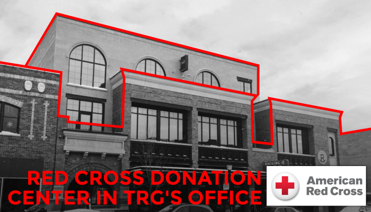 Trade Risk Guaranty hosts a blood drive in downtown Bozeman, Montana