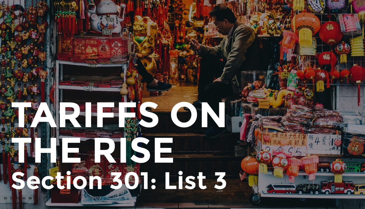 Trade Risk Guaranty explains how the tariffs are rising on Section 301 List 3.