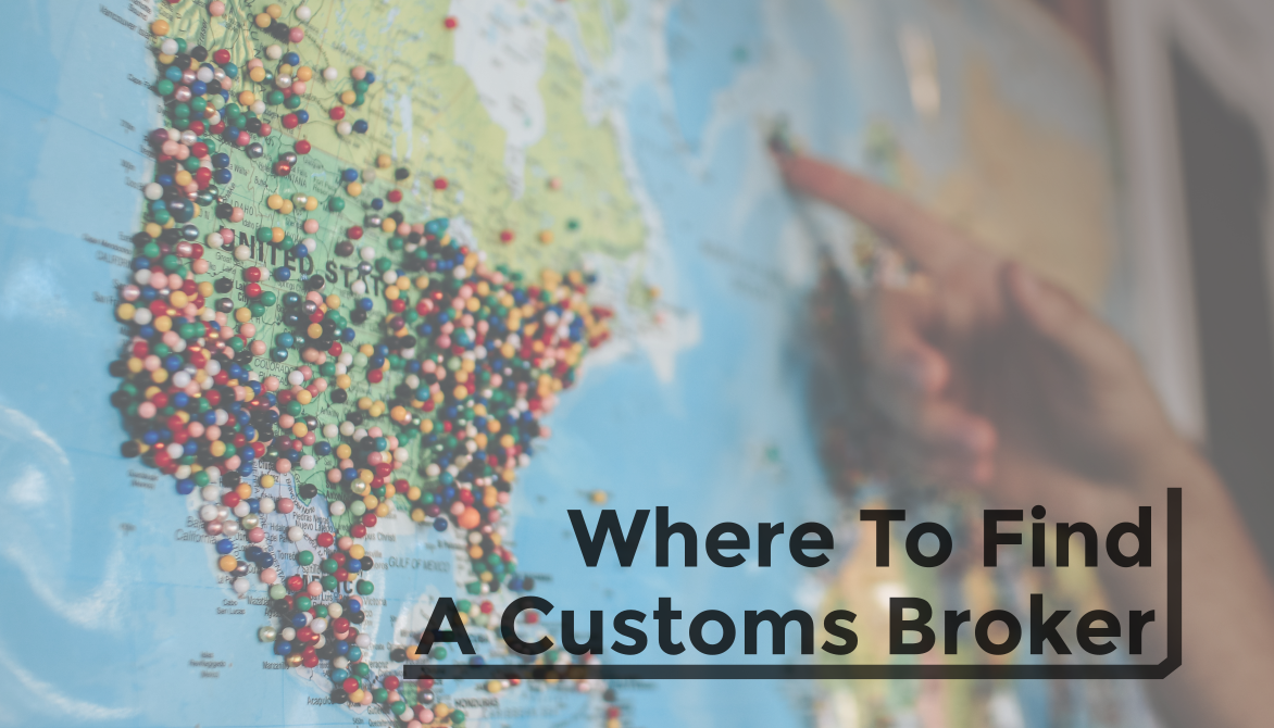Where Can I Find a Customs Broker?