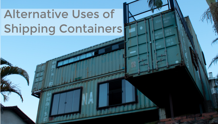 Most people know shipping containers for their ability to transport goods across the ocean. Alternate uses for shipping containers include auctions and buildings.