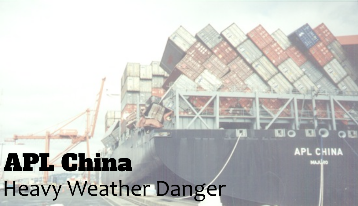 Heavy Weather Dangers: The 1998 APL China Shipping Loss