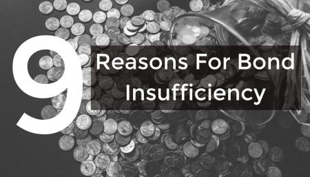 Why has your Customs Bond been deemed insufficient? There are 9 possible reasons and we have the answers...