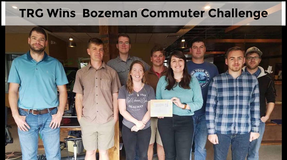 TRG Wins the Bozeman Commuter Challenge