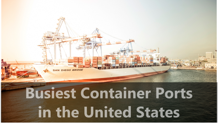 There are ports of entry all across the U.S. Learn about the 5 busiest container ports in the United States and their volume.