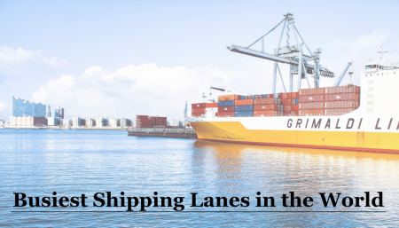 Container ships use shipping lanes to transport goods across the world. Learn about the world's busiest shipping lanes and their traffic.