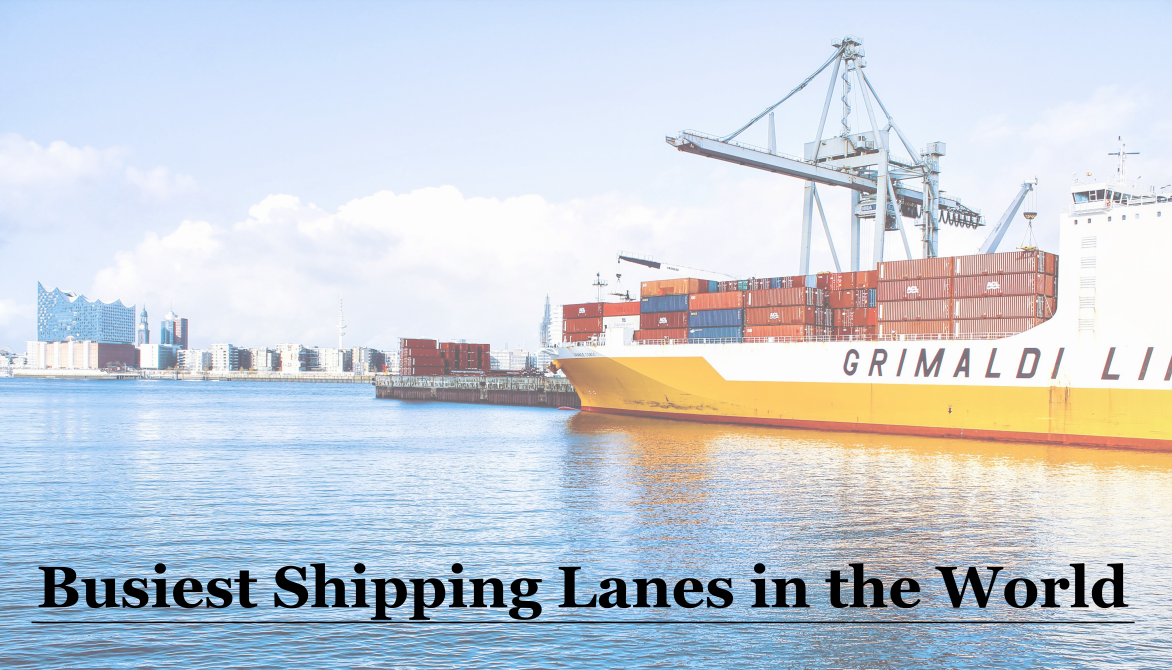 World's Busiest Shipping Lanes